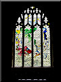 TM0974 : Stained Glass Window of St.Mary the Virgin Church by Adrian Cable