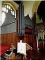 TM0974 : Organ of St.Mary the Virgin Church by Adrian Cable