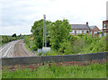 SK5124 : View from the railway bridge, Hathern by Alan Murray-Rust