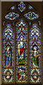 SK8791 : Stained glass window, St Laurence's church by J.Hannan-Briggs