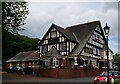 SO8468 : The Mitre Oak on the A449 by Ian S