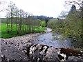 NN9740 : Upstream River Braan by Stanley Howe