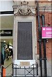 TQ2879 : Victoria Station war memorial, London by Bob Embleton