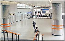 TQ3382 : Shoreditch High Street Station, concourse by Ben Brooksbank
