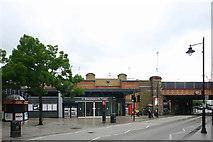 TQ2575 : Wandsworth Town station by David Kemp