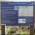 NO3187 : Deer Stalking Information by Nigel Corby