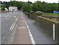 SK2523 : Burton Bridge, looking east by Alan Murray-Rust