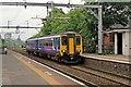 SJ7698 : Northern Rail Class 156, 156428, Patricroft railway station by El Pollock