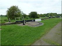 SP7256 : Lock 7, Grand Junction Canal - Northampton Arm by Mr Biz