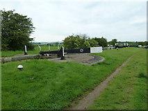 SP7256 : Lock 4, Grand Junction Canal - Northampton Arm by Mr Biz