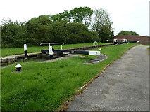 SP7256 : Lock 2, Grand Junction Canal - Northampton Arm by Mr Biz