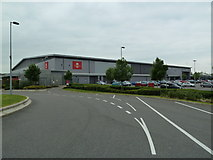 SP7158 : Royal Mail South Midlands Mail Centre by Mr Biz