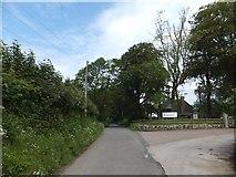 SX6598 : Entrance to farm at North Wyke by David Smith