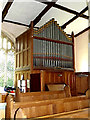 TL9640 : Organ of St. Mary's Church by Adrian Cable