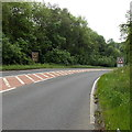 SO5051 : Beware of deer for 1 mile ahead, Dinmore Hill by Jaggery