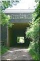 TQ2155 : Bridleway tunnel under M25 by Hugh Craddock