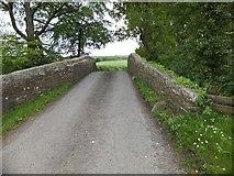 SX6599 : Pecketsford Bridge by David Smith