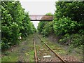 NT2875 : Little used railway line to Leith Docks by Graham Robson