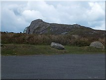 SX7576 : Car park on Saddle Tor and Haytor Rocks by David Smith