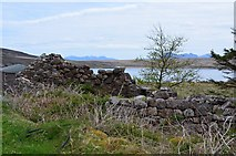 NB9908 : Ruined house, Ardnagoine, Tanera More by Jim Barton