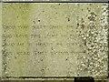 SD4199 : Arthur Heywood Memorial Stone (2), Orrest Head by David Dixon