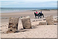 NJ2071 : Lossiemouth West Beach by Walter Baxter