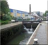 TQ3283 : Sturt's Lock, Regent Canal by Paul Gillett