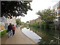 TQ3483 : Regent's Canal, Hackney by Paul Gillett