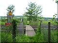 TQ5261 : Railway foot crossing near Shoreham by Marathon