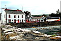 M2208 : County Clare - Ballyvaghan - Monk's B&B, Seafood Pub & Restaurant along R477 by Suzanne Mischyshyn