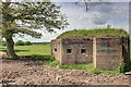 NZ1987 : WW2 Pillbox, Cottingwood Common by Mick Garratt
