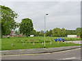 SK2523 : Meadowside open space by Alan Murray-Rust