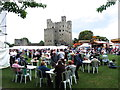 TQ7468 : Rochester Castle by Chris Whippet