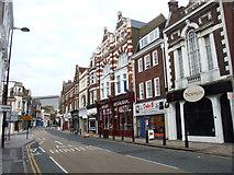 TQ7567 : High Street, Chatham by Chris Whippet