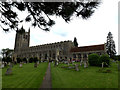 TL8646 : Holy Trinity Church, Long Melford by Adrian Cable