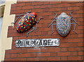 ST5871 : Mill Lane bugs by Neil Owen