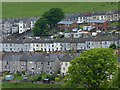 SO1305 : Terraced houses, Abertysswg by Robin Drayton