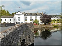 SD3686 : Swan Hotel, Newby Bridge by David Dixon