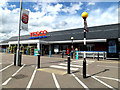 TL8742 : Tesco Superstore & Tesco Springlands Way Postbox by Adrian Cable