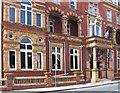 NZ5032 : Hartlepool - Grand Hotel - brickwork detail by Dave Bevis