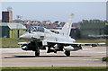 NJ2069 : At Typhoon at RAF Lossiemouth by Walter Baxter