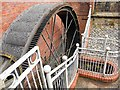 SJ9398 : Portland Basin Waterwheel by David Dixon