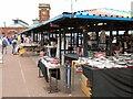 SJ9399 : The Open Market at Ashton-Under-Lyne by David Dixon