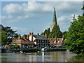 SU4996 : Abingdon waterfront as seen from the river Thames by Ruth Sharville