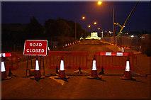 SD4764 : Temporary closure, Slyne Road (A6) by Ian Taylor