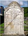 J3652 : Gravestone, Ballynahinch by Rossographer