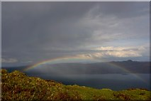 NG5139 : Rainbow over Raasay Sound by Anthony O'Neil