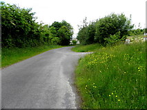 G9424 : Road at Cavan by Kenneth  Allen