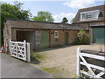 SK5451 : Stable wing, Papplewick Lodge by Alan Murray-Rust