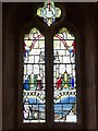 SU9298 : St John the Baptist - Stained glass (1) by Rob Farrow